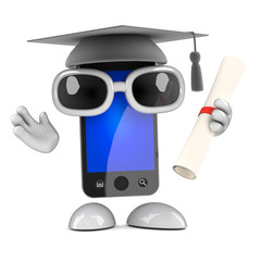 Smartphone graduates!