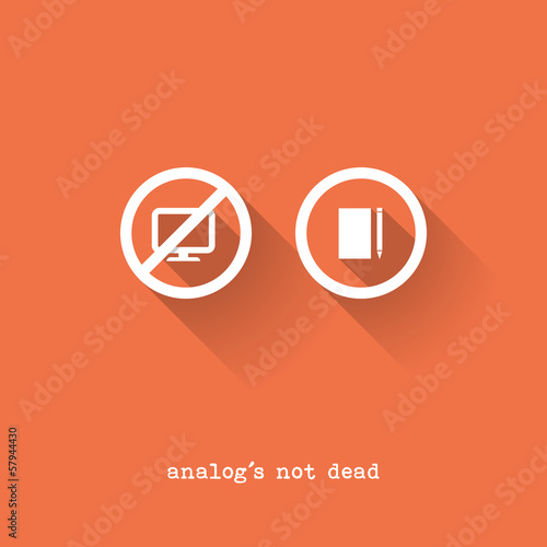Analog Is Not Dead - Notepad vs. Pc