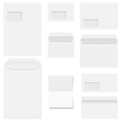 Sammlung - Briefumschlag und Briefpapier