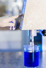 Chemical Liquid Lab Research