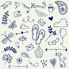 My Home doodles