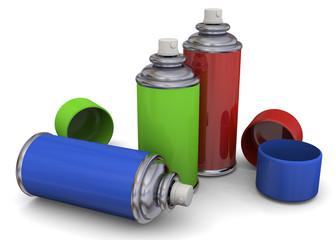 Color Spray - 3D