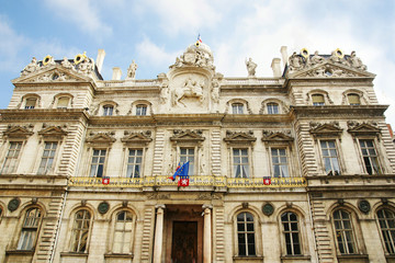 Town hall of Lyon France