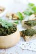 homemade pate green