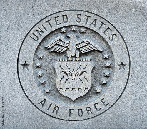 Fotobehang Historisch mon. Air Force