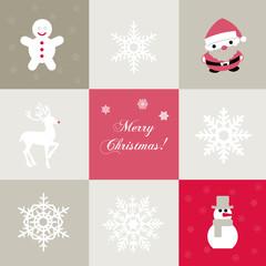 Seamless vector christmas background