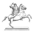 Ancient Greece : Equestrian Statue