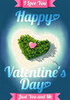 Happy Valentine's Day Tropical Island