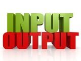 Input output poster