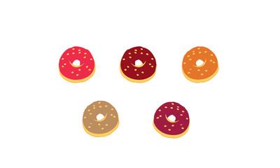 Vecteur donuts