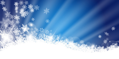 Merry Christmas -Blue-