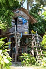 Tropical beach house in Thailand