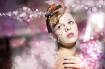 Perlen Make Up