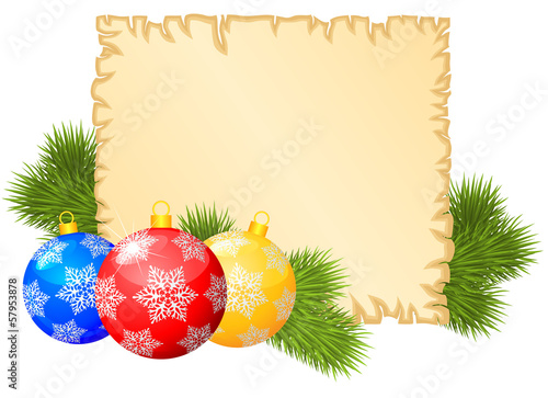 Christmas congratulations background