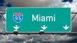 Miami - Interstate 95 Sign Time Lapse