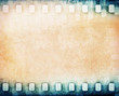 Blank colorful film strip background