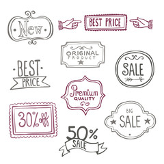 Sales Labels - Doodles