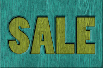 Sale signs, background