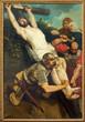 Leuven - Paint of Crucifixion of St. Michaels church