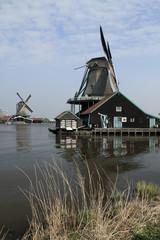 Open-air Museum of Windmills in Zaanse Schans