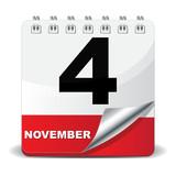 4 NOVEMBER ICON