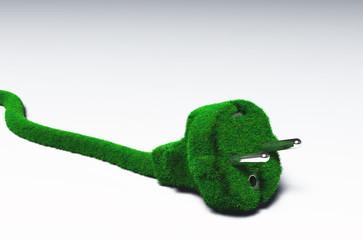 Grassy plug