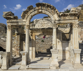 Ruins of the ancient Greek city Ephesus