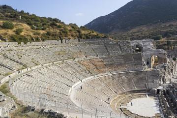 Amphitheater (Coliseum) in Ephesus (Efes) Turkey