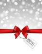 Schleife Hintergrund - merry christmas