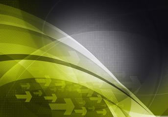 green black graphic arrows backdrop