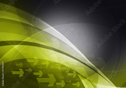 green black graphic arrows backdrop