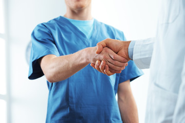 Successful healthcare team
