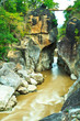 Ob Luang mountain river in Chiangmai province of Thailand