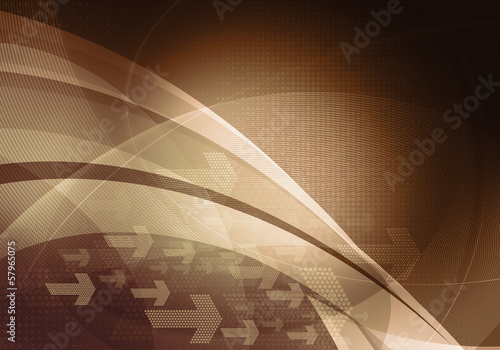 abstract bronze arrows backdrop