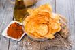 Potato Chips with Paprika Powder