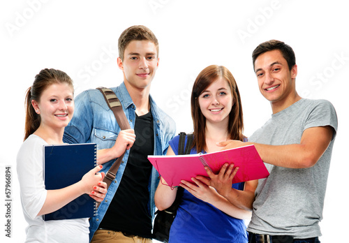 group of the students