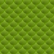 Abstract  green background with circles.