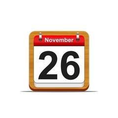 November 26.