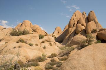 Eroded rocks