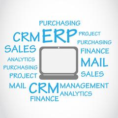 Enterprise Resource Planning ERP Background