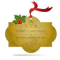 クリスマス バッジ Winter Holiday badge