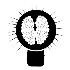 brain in a lightbulb