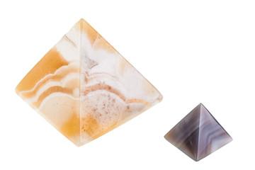marble pyramids