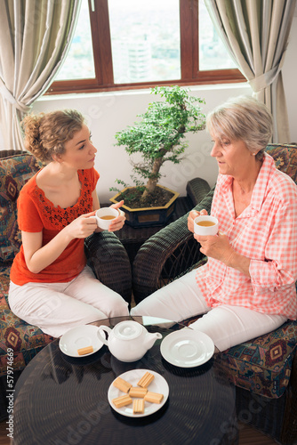 Tea with granny