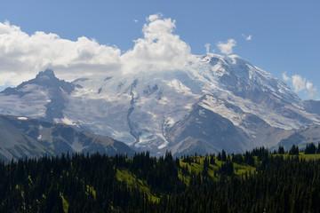 Au Mont Rainier National Park, USA