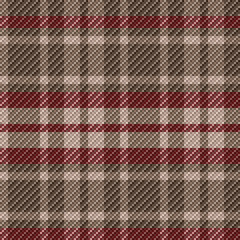 Checkered seamless tartan pattern