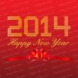 Happy New Year 2014 Background