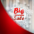 Christmas snowflakes with big sale.   EPS10