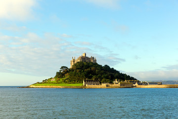St Michaels Mount Cornwall England medieval castle