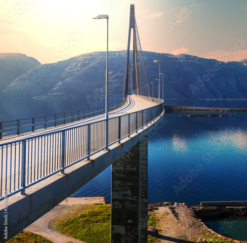 Bridge in Norway - 57981058